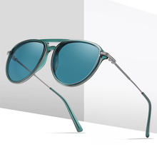 Sunglasses Polarized men women Oval Sun Glasses Couple Simpl