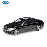 WELLY 1:24 Mercedes Benz S Class sports car machine Simulation Alloy Car Model Collection toy tools