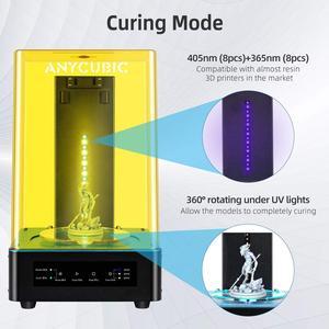 Image 5 - Sèche linge anycubique pour Mars Photon photon s 2 en 1 Machine à laver à polymériser pour LCD SLA DLP imprimante 3d modèle de résine UV