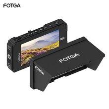 """Fotga A50TLS 5 """"FHD Video Trên Camera Trường Màn Hình Màn Hình Cảm Ứng IPS SDI 4K HDMI Đầu Vào/Đầu Ra 3D LUT NP F Pin Cho A7S II GH5"""