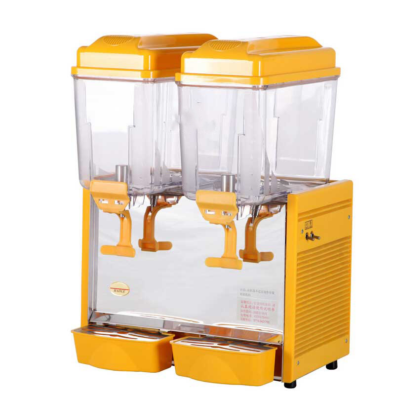Selling  2020 New12 L Double Tank Juice Dispenser Cold Hot Drink Machine