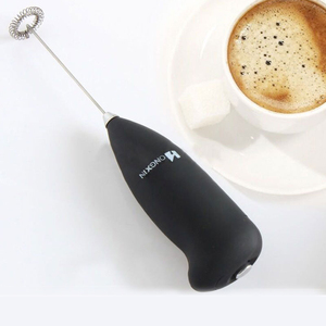 Electric Milk Frother Automatic Handheld Foam Coffee Maker Egg Beater Milk Cappuccino Frother Portable Kitchen Coffee Whisk Tool