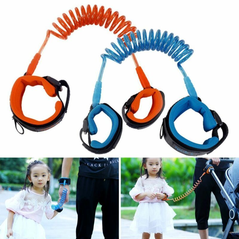 Toddler Kids Baby Safety Anti-lost Strap Walking Harness Wrist Leash Belt Toddler Link Outdoor Leashes