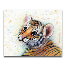 Nayachic Full Round Drill 5d Diy Diamond Painting animal Tiger Embroidery Cross Stitch 3d Diamond Pictures Of Mosaic Decor nayachic full round drill 5d diy diamond painting animal tiger embroidery cross stitch 3d diamond pictures of mosaic decor