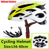 Kingbike 2019 novo design preto capacetes de bicicleta mtb mountain road ciclismo capacete da bicicleta casco ciclismo tamanho L-XL 16