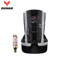 DUHAN Motorcycle Airbag Moto Motorcycle Vest Advanced Air Bag System Protective Gear Reflective Motorbike Airbag Moto Vest