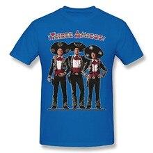 Masculino os três amigos retro 80 filme adulto humorístico novidade gráfica camisa curta camiseta royalblue