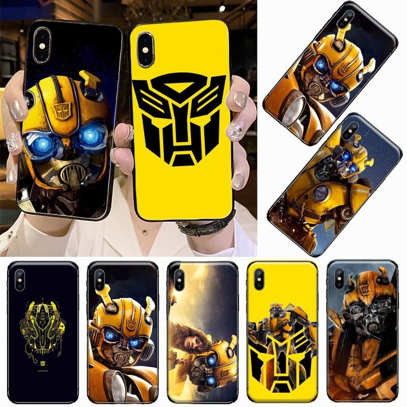 Bumblebee Transformers USA movie Luxury Phone Case For iphone 5 5s 5c se 6 6s 7 8 plus x xs xr 11 pro max coque shell funda hull