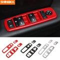 SHINEKA Innenleisten Für Dodge Durango Auto Fenster Lift Control Panel Schalter Taste Trim Abdeckung Für Dodge Ladegerät 2011 +