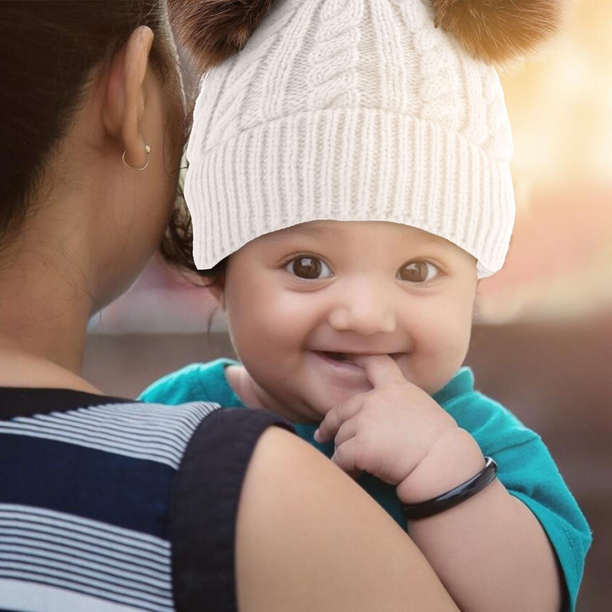 Baby-weicher Turban stricken Knoten-Kaninchen-Krankenhaus-Hut-Kappen Beanie