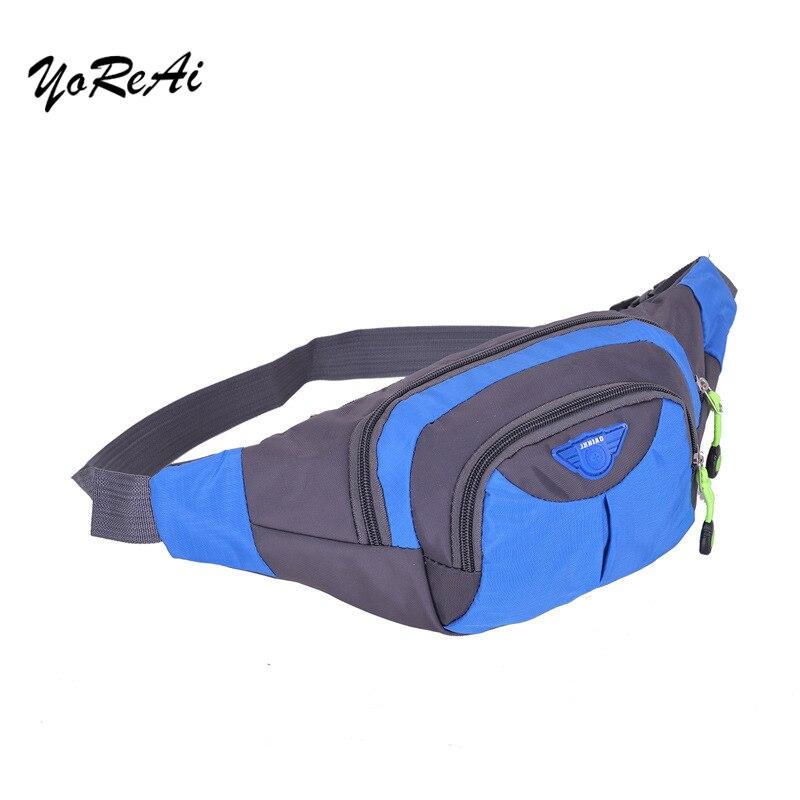 Bolsa de viaje para hombre, bolsa para correr, impermeable, para deportes, pecho, hombro, cinturón, cadera, riñonera, riñonera Unisex, bolsa para senderismo, cremallera, riñonera para mujer