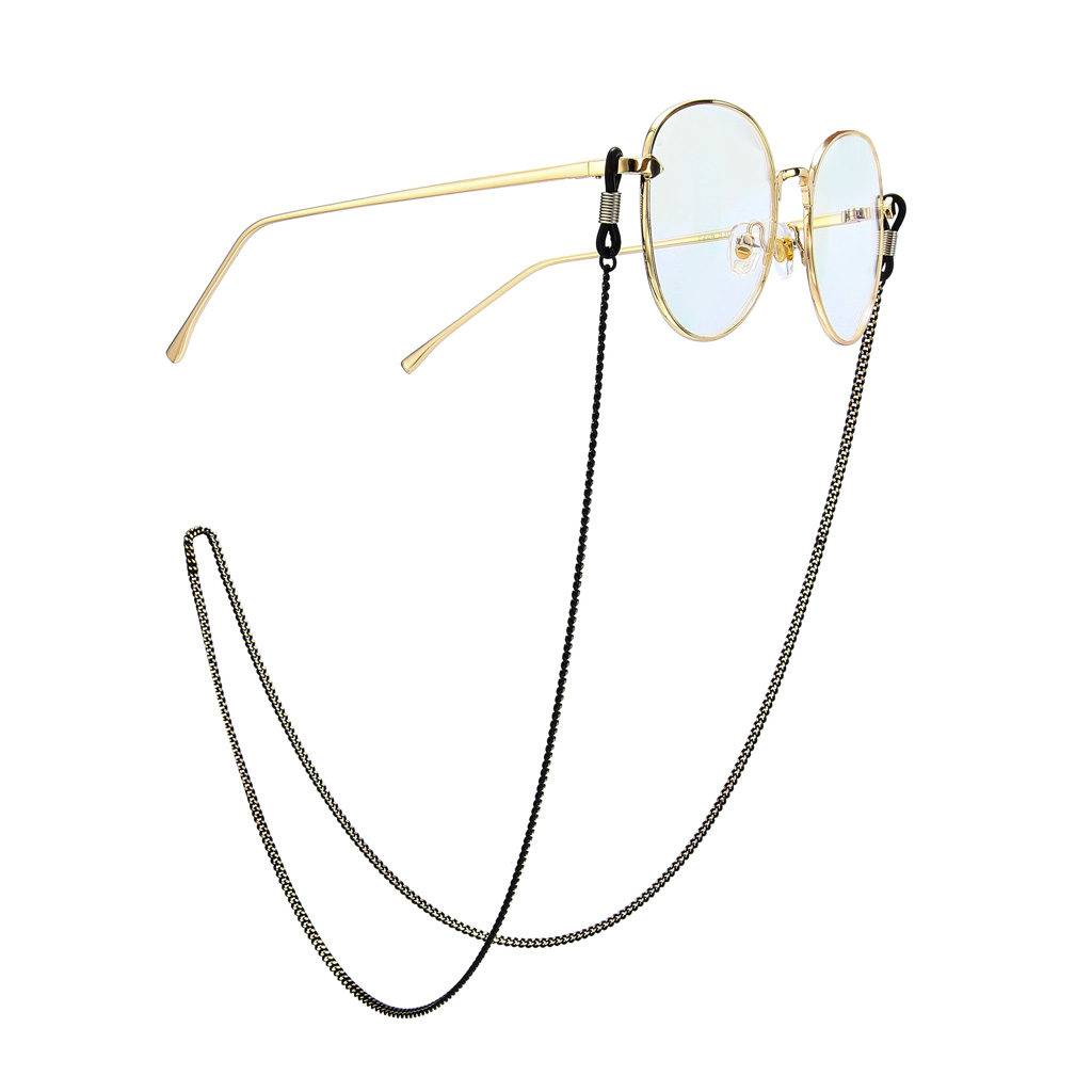 Women Butterfly Eyeglass Holder Clip Stainless Steel Lanyards Sunglasses Chain Necklace Eyeglass Retainer Cords