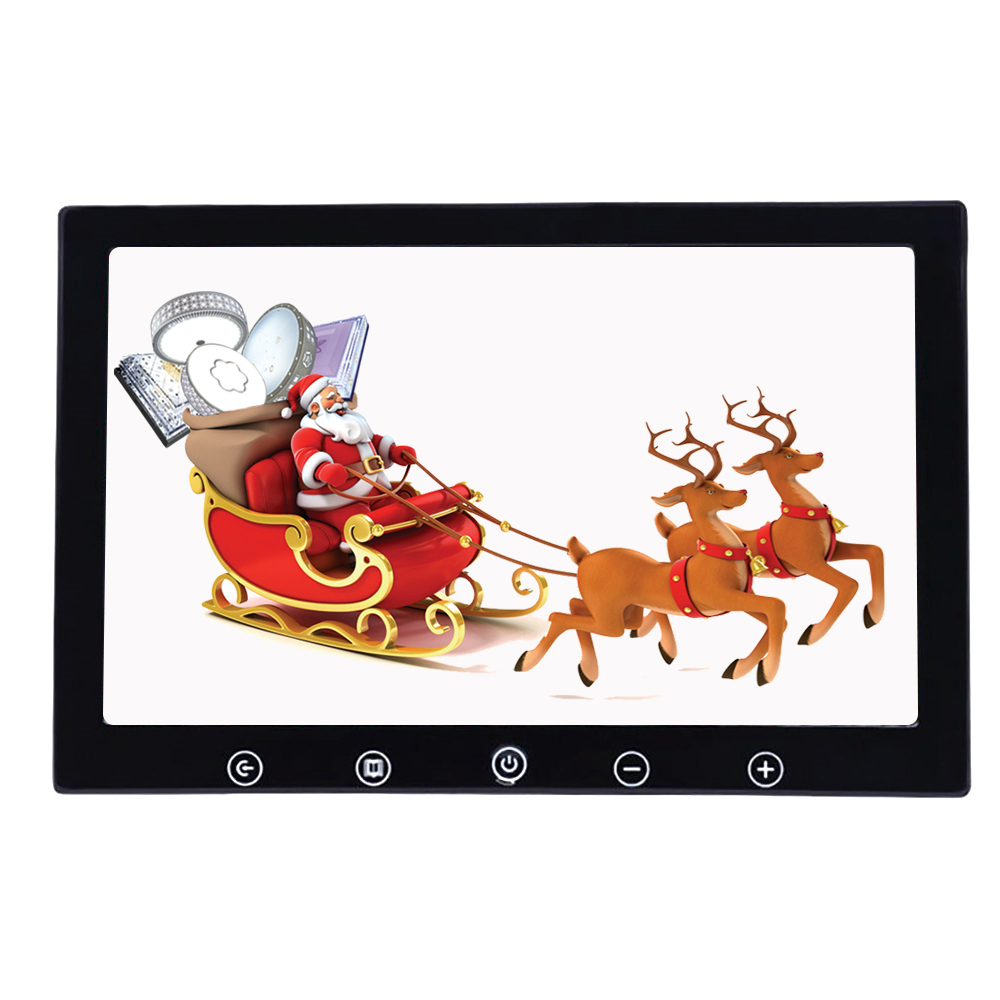 10.1 <font><b>Inch</b></font> 1024x600 Desktop Car Reverse Backup Rearview TFT LCD Display 2 AV Video Input TV <font><b>7</b></font> <font><b>Inch</b></font> Car Parking AV <font><b>Monitor</b></font> image
