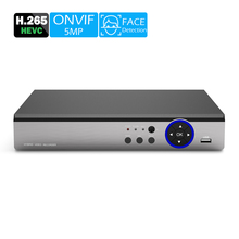 NVR Security-System Ip-Camera WIFI ONVIF USAFEQLO 16CH/9CH Face-Detection H.265 5M HDMI