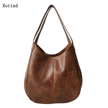 New Vintage Woman Hand bags Designers Simple Handbags Women Shoulder Ba
