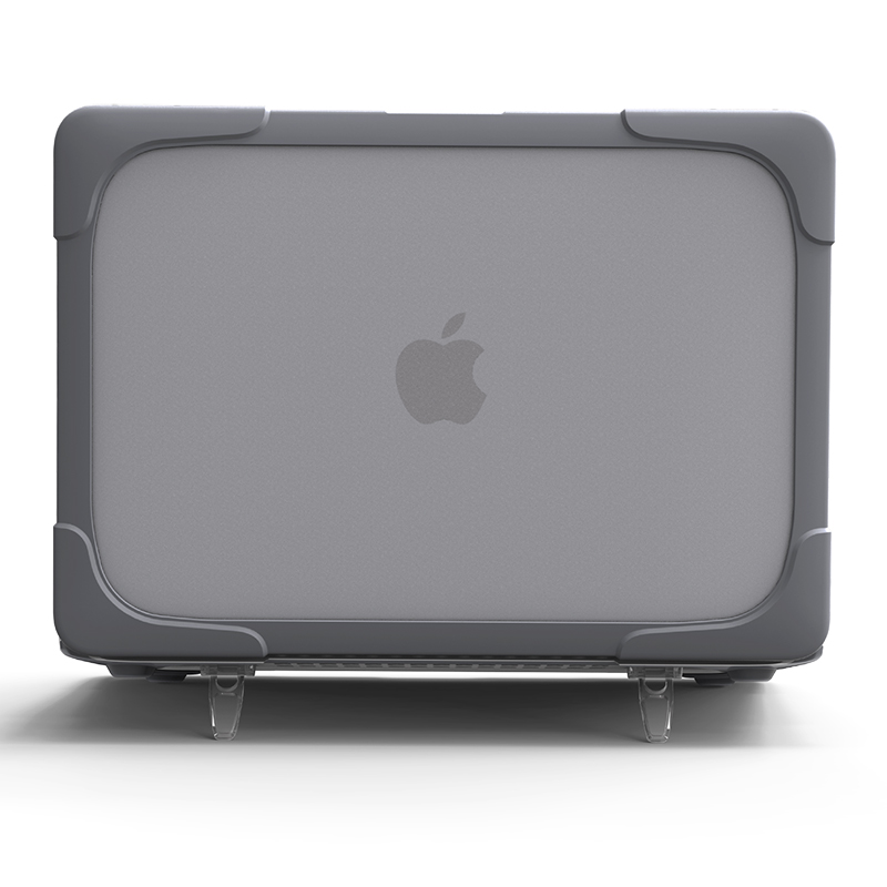 For Apple MacBook Air Pro Retina 11 12 13 15 Inch Case Kickstand Armor Cover Hard Surface Shell Shock Proof  Heat Radiating