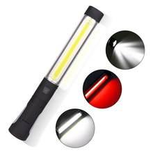 LED + COB latarka światło robocze USB akumulator latarka robocza magnetyczna elastyczna inspekcja do awaryjnego naprawa samochodów