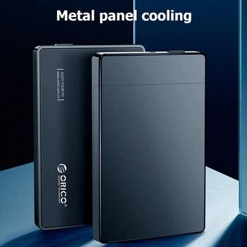 Mobile Enclosure Case HD Enclosure Super Speed 2.5 inch External HDD SSD Box USB SATA3.0 Hard Drive Disk for Windows