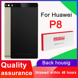 High quality Back Housing Replacement for Huawei P8 Back Cover Battery with Camera Lens for Huawei P8 Rear cover