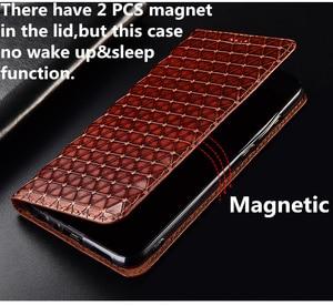 Image 5 - حقيقي حقيقي جلد حامل هاتف مغناطيسي الحال بالنسبة لجوجل بكسل 3 XL/جوجل بكسل 3 حقيبة الهاتف المحمول فتحة للبطاقات حامل حامل