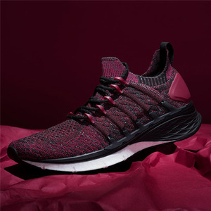 Image 4 - New Arrived Xiaomi Mijia Sneakers 3 Mens Outdoor Sports Uni moulding 3D Fishbone Lock System Knitting Upper Men Running Shoes