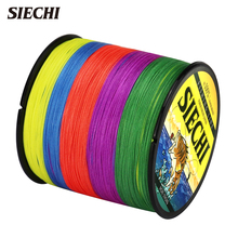 SIECHI Fishing Line 4 Strands 300m Multifilament PE Braided Wire Cast Rod Sea Fishing