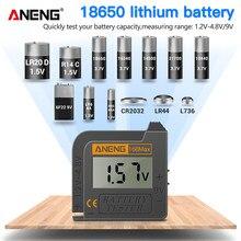 ANENG 168Max comprobador de pilas de baterias battery tester probador de baterias medidor pilas comprobador pilas indicador de carga de bateria comprobador de batería medidor bateria analizador de baterias tester