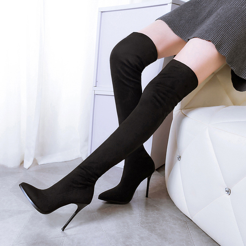 Women Boots Slim Sexy Over The Knee