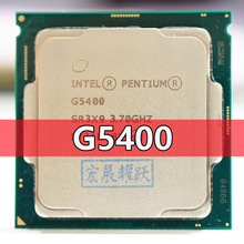 Processor CPU Pentium Nanometers Intel G5400 Dual-Core 1151-Land LGA Desktop PC 14 Computer