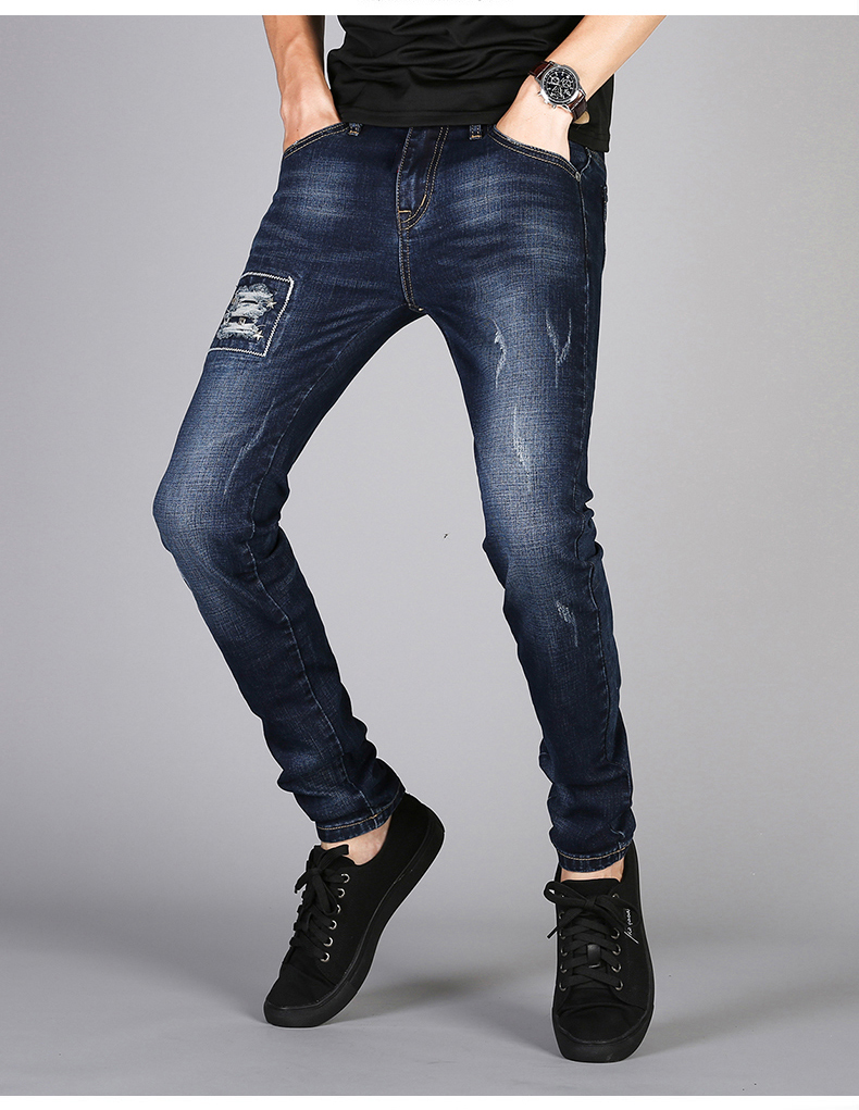 KSTUN Mens Jeans Famous Brand Blue Stretch Distressed Frayed Hiphop Streetwear 2019 Autumn RIpped Jeans Man Casaul Pants Homme 13
