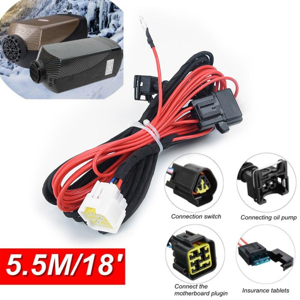 Car Truck Split Air Diesel Heater Wiring Loom Cable Adapter 5.5 Meters Accessory