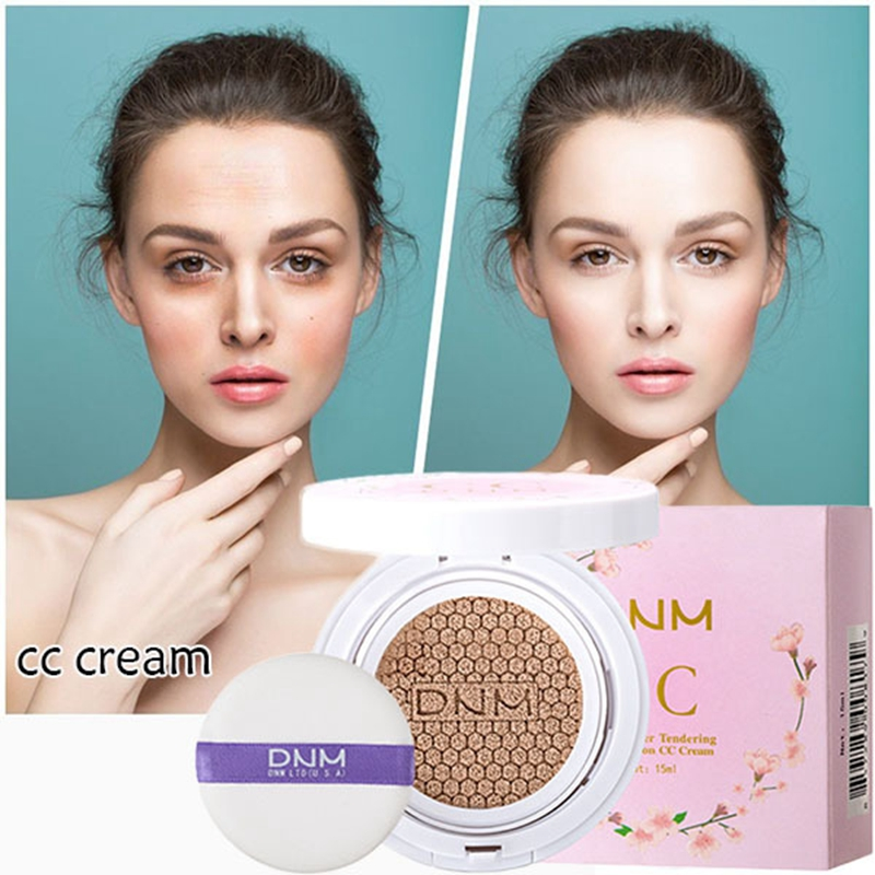 DNM Air Cushion BB CC Cream Concealer Moisturizing Foundation Whitening Oil-control Makeup 2 Colors Facial Cream Beauty