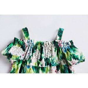 Image 3 - Beenira vestido de verano para chicas, sin mangas, estampado de flores, estilo europeo y americano, Dresses4 14Y, 2020