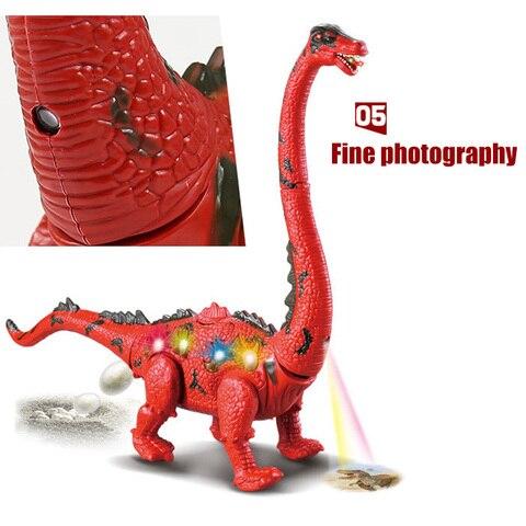venda quente brinquedo eletrico dinossauro andando leigos
