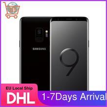 Восстановленный Samsung S9 G960F-оригинальный мобильный телефон Android 4G LTE Exynos 9810 Восьмиядерный 5,8