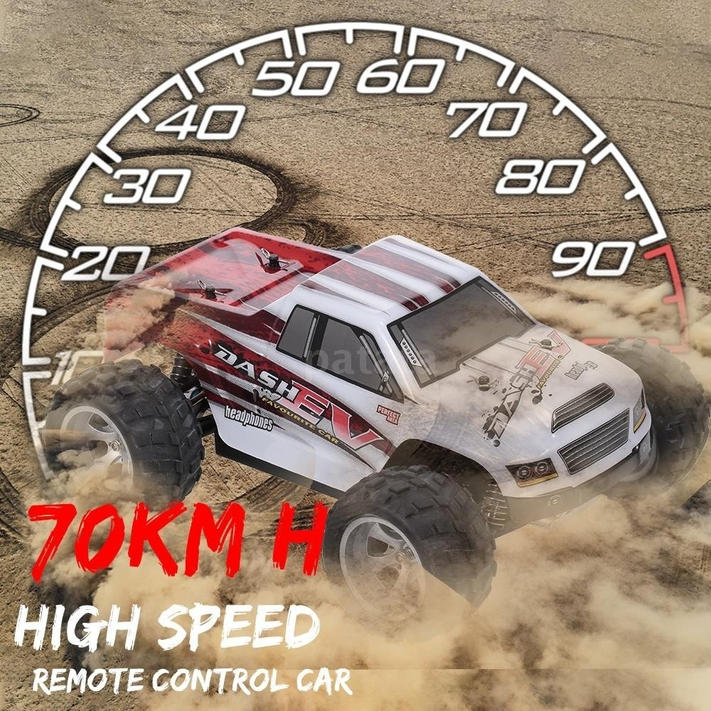 WLtoys A979B 1/18 70KM/h High Speed Racing Car 2.4GHz 4WD RC Drift Car Electric Big-foot RTR Off-road Vehicle Best Gift for Boy