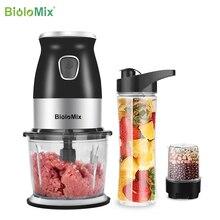 BPA FREI 500W Tragbare Persönlichen Mixer Mixer Küchenmaschine Mit Chopper Schüssel 600ml Entsafter Flasche Fleischwolf Baby lebensmittel Maker