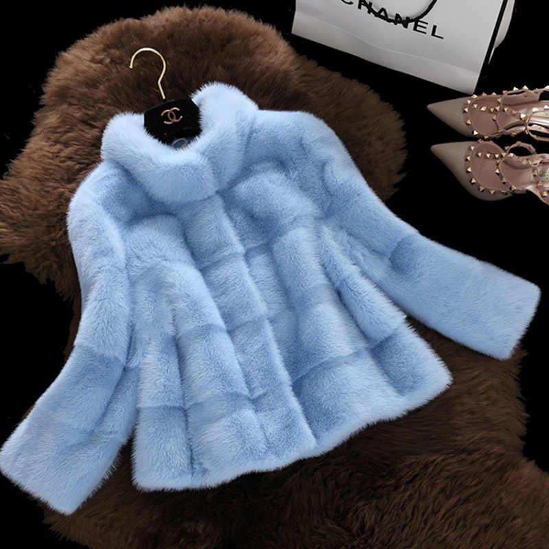 Casaco de pele branca fofo poncho de pele do falso bonito casacos femininos parque inverno quente luxo plush tracksuit europa moda rua