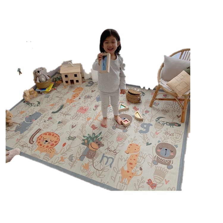 Cartoon Wind Thickened Children Climb The Floor Mat Tea Table Mat Parent-child Game Mat Non-slip Can Be Washed   12