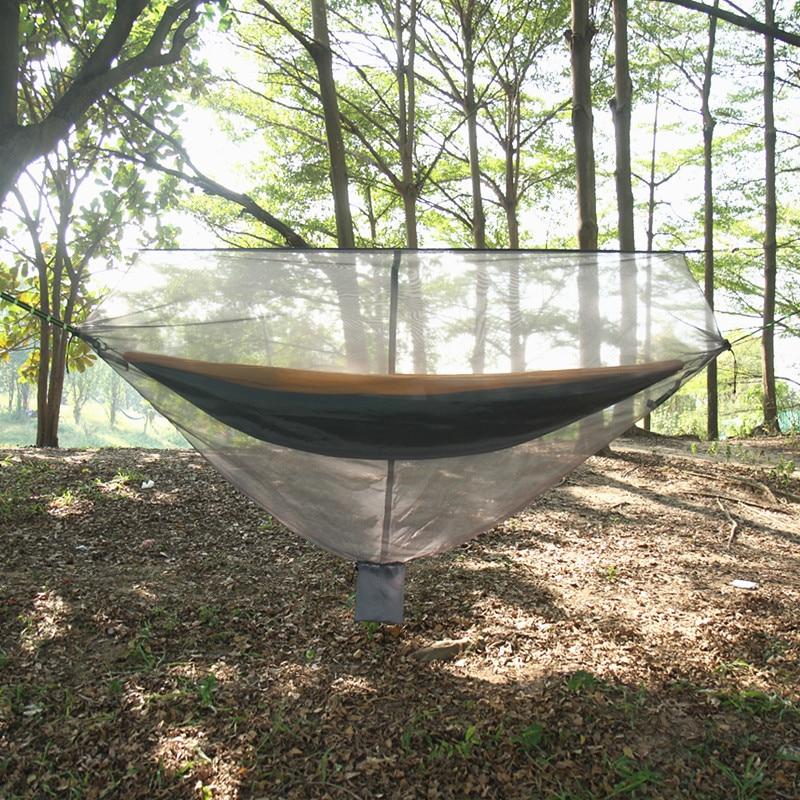 Amazon Hot Selling Only Hammock Wen Zhang Wang Anti Mosquito Adjustable Separation Alone Use Camping Fishing