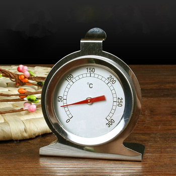 0-400 Celsius Stainless Steel Oven Thermometer Mini Dial Stand Up Temperature Gauge Gage Food Meat Kitchen Tools Oven Cooker 2