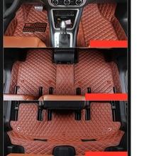 lsrtw2017 leather car floor mat for volkswagen vw sharan 2011-2019 2012 2013 2014 2015 2016 2017 2018 seat Alhambra carpet rug fast shipping fiber leather car floor mat carpet rug fit for volkswagen vw passat b7 2010 2011 2012 2013 2014 2015