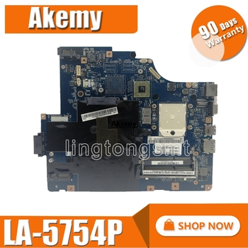 LA-5754P motherboard for Lenovo G560 Z560 Laptop motherboard Z560 motherboard ( without HDMI port ) Test mainboard