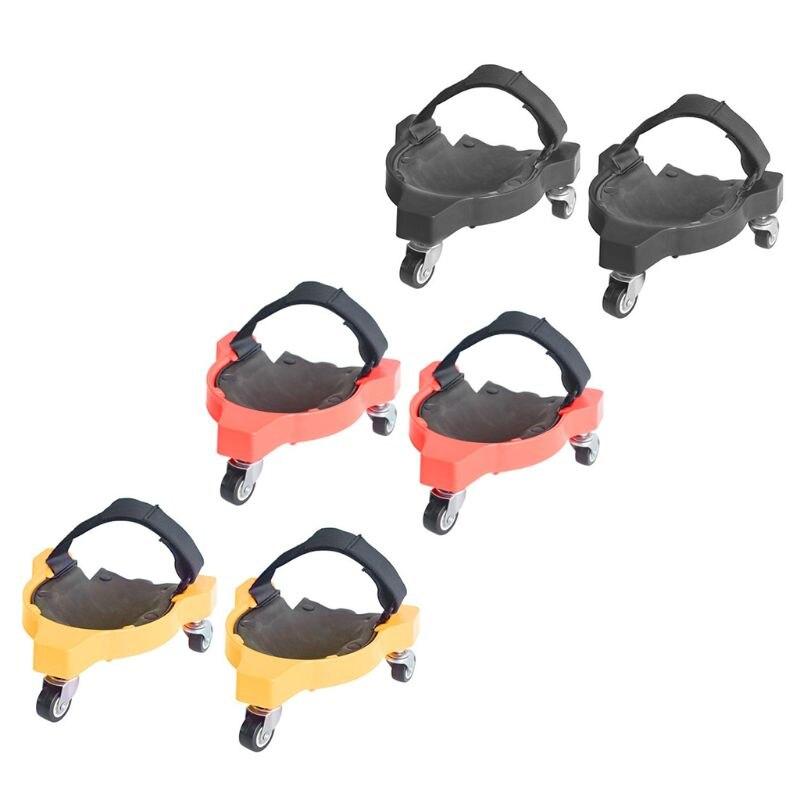 Multifuncional universal roda polia joelho almofada protetor construção piso de trabalho 964e-1