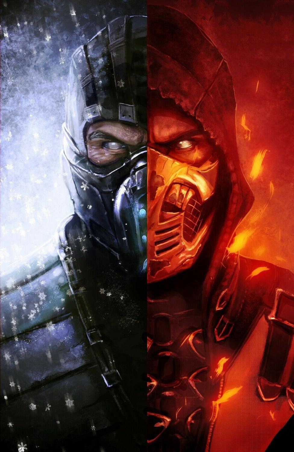 mortal kombat scorpion vs sub zero
