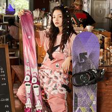 Экстра Толстые мужские и женские лыжные штаны прямые комбинезоны