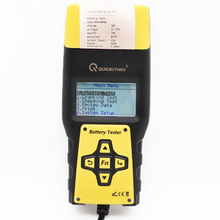 12V Automotive digital car battery capacity voltage CCA load analyzer battery tester