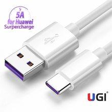 Câble USB type-c USB-C pour recharge rapide, cordon de chargeur USB-C pour téléphone Samsung S20 S10 Plus Xiaomi