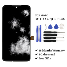 For Motorola Moto G7 Plus LCD Display Touch Screen Panel Mobile Phone