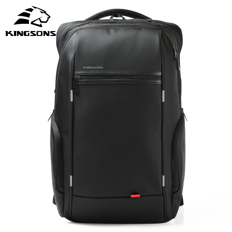 Kingsons USB Charge Anti Theft Backpacks Men Travel Waterproof School Bags College Teenager Male 13/15/17 inches Laptop Backpack